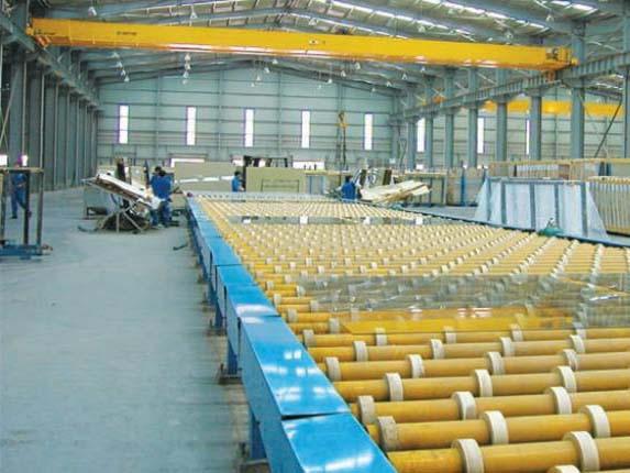 玻璃 加工行业 LH5t 双梁起重机