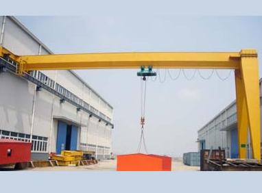 MHB型半门式电动葫芦起重机